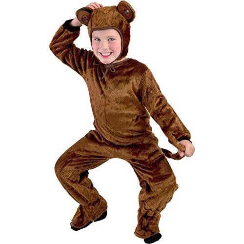 Boys Fur Monkey Costume