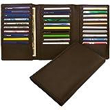 (ミラグロ) Milagro BTWL03 ソフトレザー 30枚カード 収納ウォレット 長財布 [本革][BESPOKE ビスポーク]