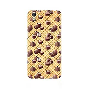 Mobicture Eclair Love Premium Printed Case For Oppo A37