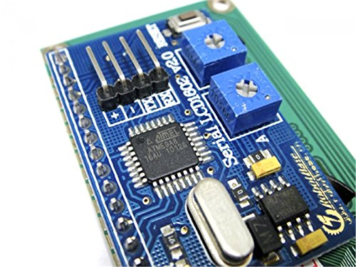 Serial Enabled 16x2 LCD Black On Green 5V/After The Controller Programming, Can Easily Achieve Identification Signs, Sensor Data Records Show That from DF MAKER