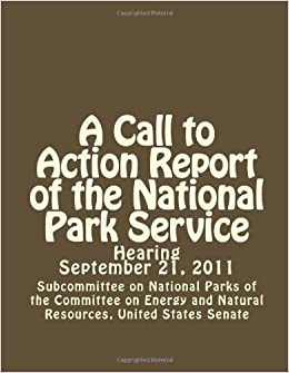 Committee On Energy And Natural Resources Subcommittee On National Parks