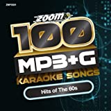 Zoom Karaoke MP3+G Disc - 100 Songs - Hits of The 60s Zoom Karaoke