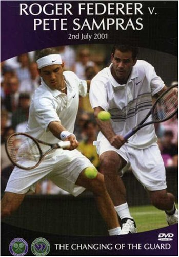 Cover art for  Roger Federer vs. Pete Sampras: The Changing of the Guard
