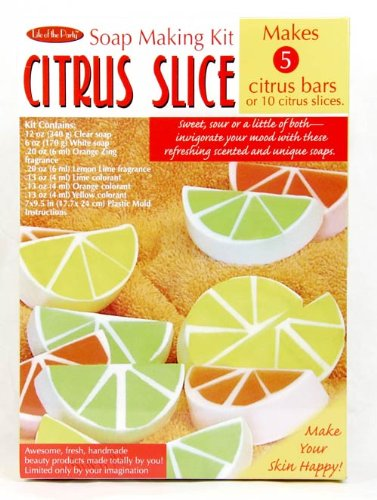 Citrus Slice Soap Making Kit