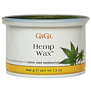 Amazon.com : GiGi Hemp Wax with Hemp Seed Oil : Hair Removal Wax