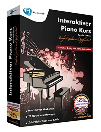 Interaktiver Piano Kurs - Special Edition