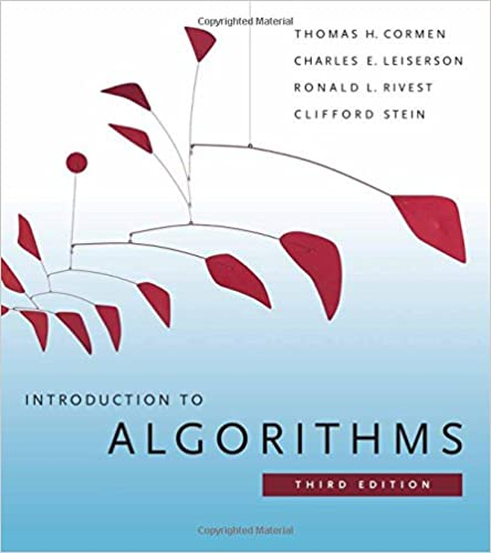 Best books collection: Introduction to Algorithms, Third Edition