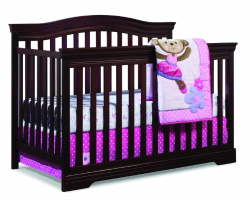 Broyhill Kids, Bowen Heights 4-in-1 Convertible Crib, Cherry