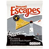 Warburtons Escapes Sea Salt & Black Pepper Crispy Pitta Bites 150g (pack of 8)by Warburtons