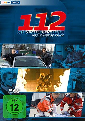 112 - Sie retten dein Leben, Vol. 3, Folge 33-48 [2 DVDs]