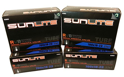 Tube, 700 x 18-23  32mm PRESTA, Sunlite Bicycles