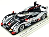 Audi R18 TDI No. 2 - Audi Sport Team Joest - Winner Le Mans 2011 - 1/43rd Scale Spark Model