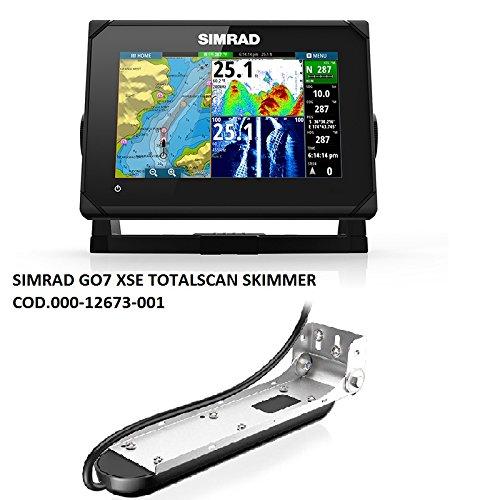 Simrad 000-12673-001Go7XSE multifonctionnel avec arrière donateurs (totals Can) poisson Finder