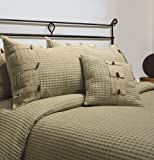 Park B. Smith Eco Escondido Comforter Set, Celadon, Queen