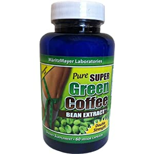 Pure Super Green Coffee Extract 800mg, 60 caps $9.50
