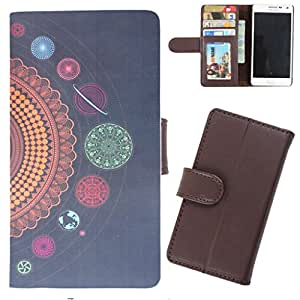 DooDa - For HTC ONE X / HTC One X Plus PU Leather Designer Fashionable Fancy Wallet Flip Case Cover Pouch With Card, ID & Cash Slots And Smooth Inner Velvet With Strong Magnetic Lock
