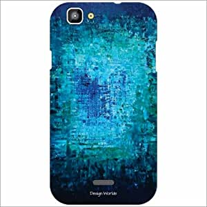 Design Worlds - XOLO One Designer Back Cover Case - Multicolor Phone Cover