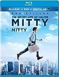 The Secret Life of Walter Mitty  [Blu-ray + DVD + Digital Copy]