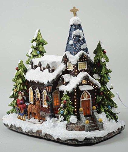 lumineo-26cm-led-fibre-optic-church-ornament-mains-operated-christmas-scene