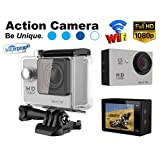 Gadget Hero's 12MP HD 1080P Sport Action Waterproof Wifi Camera With 2 Inch LCD CMOS Sensor With Multiple Accessories... - B013WETZ4W