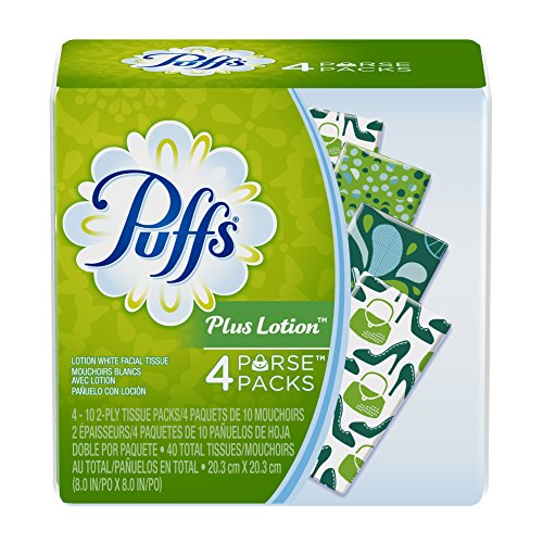 Puffs To Go Pack Facial Tissues