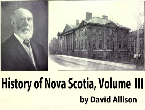 History of Nova Scotia, Volume 3