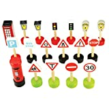 Bigjigs Rail BJT061 Signs Pack