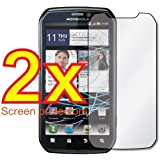 2x Motorola Photon (Motorola Electrify) 4G MB855 Premium Clear LCD Screen Protector Cover Guard Shield Protective Film Kit
