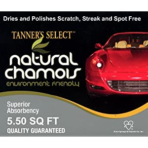 Tanner's Select Premium New Zealand Sheepskin Chamois (5.5 Sq. Ft.)
