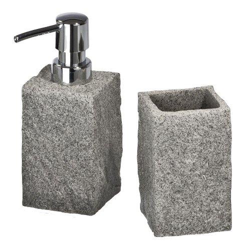 Badezimmer-Set 2 teilig, Granite