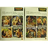 TCM Greatest Classic Films Collection: Tarzan Vol 1 and Vol 2 (DVD 2-pack) (Tarzan the Ape Man / Tarzan Escapes / Tarzan Finds a Son! / Tarzan and His Mate / Tarzan's Secret Treasure / Tarzan and the Amazons / Tarzan's New York Adventure / Tarzan and the Leopard Woman)