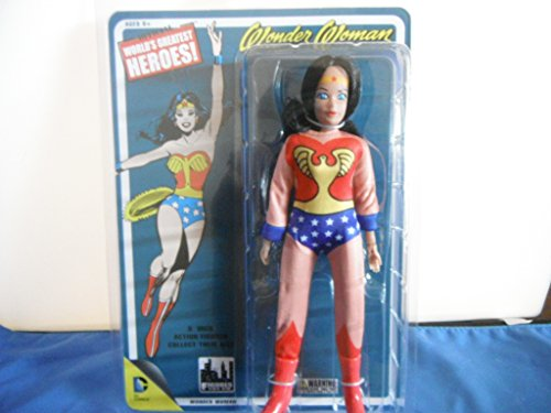 Wonder Woman Retro 8 Inch Action Figure with Full Body Artwork