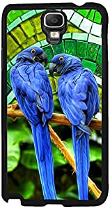 Printvisa 2D-SGN3N-D8155 Birds Parrot Case Cover For Samsung Galaxy Note 3 Neo 3G Sm-N750
