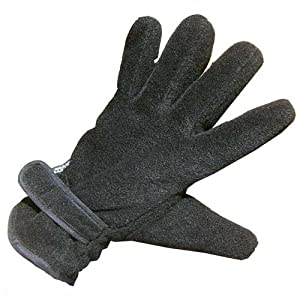 2 x Mens Thinsulate Fleece Gloves - Grey Large/X Large