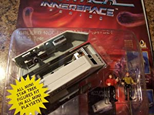 Star Trek Inner Space Series Galileo NCC-1701/7 Mini Playset