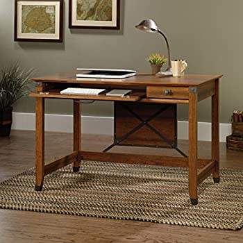 Sauder Carson Forge Writing Desk, Washington Cherry Finish