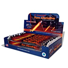 "Cyalume SnapLight Industrial Grade Flare Alternative Chemical Light Sticks, Orange, Ultra-High Intensity, 8"" Long, 30 Minute Duration (Pack of 24)"