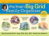 img - for 2017 Amy Knapp Big Grid Wall Calendar: The essential organization and communication tool for the entire family by Amy Knapp (2016-05-01) book / textbook / text book