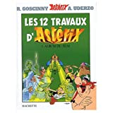 Les Douze Travaux d'Asterix (French Edition of The 12 Tasks of Asterix) / Book and Videocassette Package