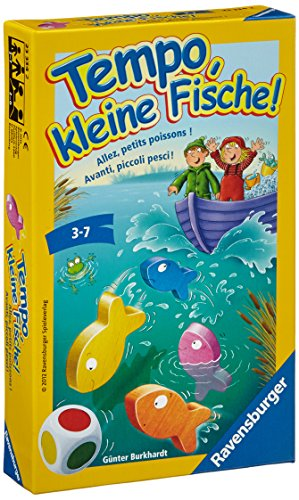おさかなクン(テンポフィシュ:Tempo, kleine Fische!)/Ravensburger/Guenter Burkhardt