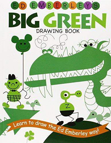 Ed Emberley's Big Green Drawing Book (Ed Emberley's Big Series) (The Big Book Of Drawing compare prices)