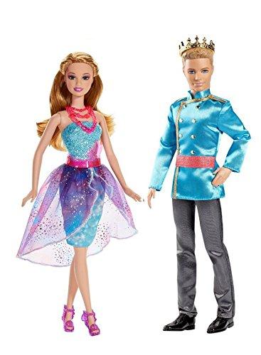 Barbie und die geheime Tür Freundin blond, BLP30 + Prinz BLP31 (EAN9009588009376)