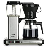 Technivorm-Moccamaster KB 741 10-Cup Coffee Brewer with Glass Carafe, Brushed Silver ~ Technivorm Moccamaster