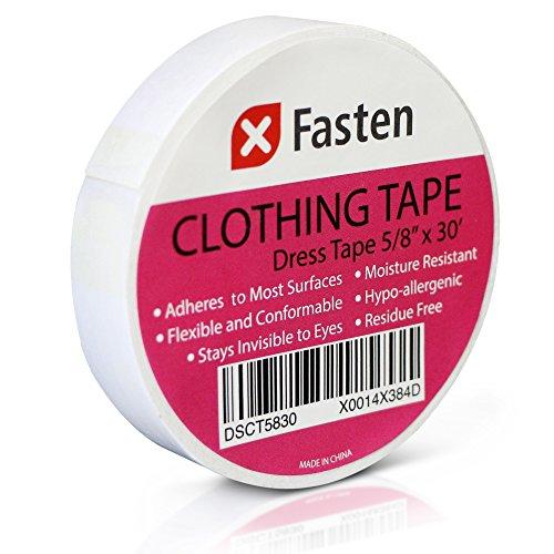 xfasten-clothing-tape-hypo-allergenic-white-5-8-in-x-30-ft