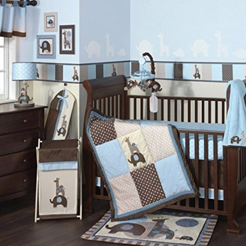 Lambs & Ivy Crib Bedding Set And Bumper (Jake)