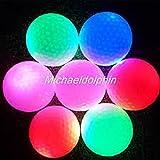LED ゴルフボール (白) 3個セット