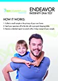 At-Home DNA Test Kit: Non-Legal Paternity Blood Test Compares DNA Patterns Between Child and Alleged Father