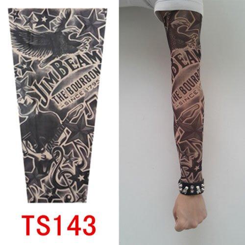 junsi-alta-calidad-old-school-estilo-temporales-falsos-slip-on-tatuaje-manga-ts131-nuevos-colores