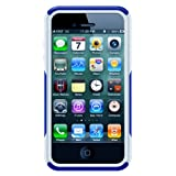 Otterbox Commuter Series Hybrid Case for iPhone 4 & 4S  - Retail Packaging - Zircon Blue/White