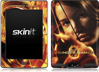 Skinit The Hunger Game -Katniss Bow & Arrow Vinyl Skin for Kindle Touch